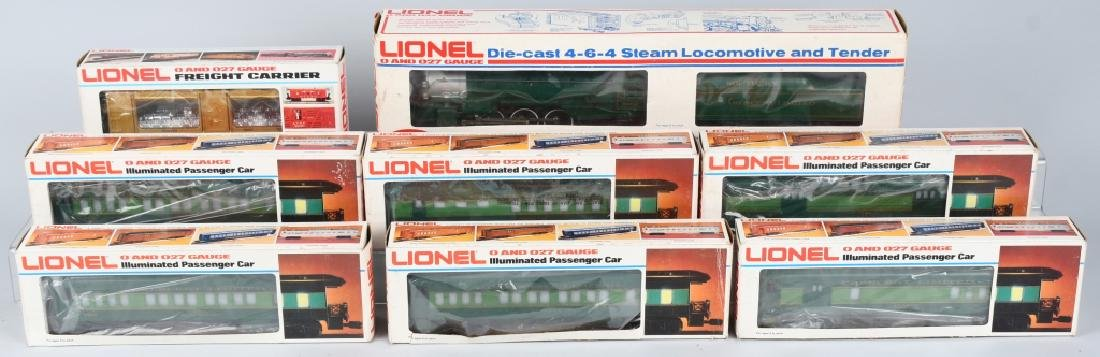 LIONEL SOUTHERN CRESCENT TRAIN SET