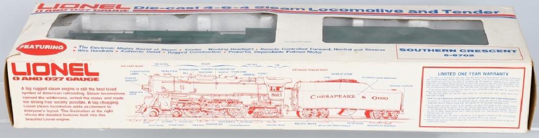 LIONEL SOUTHERN CRESCENT TRAIN SET - 3