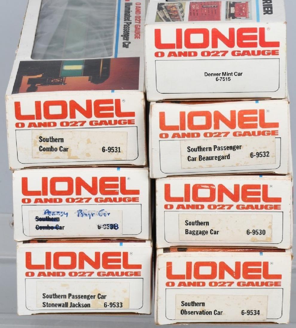 LIONEL SOUTHERN CRESCENT TRAIN SET - 6