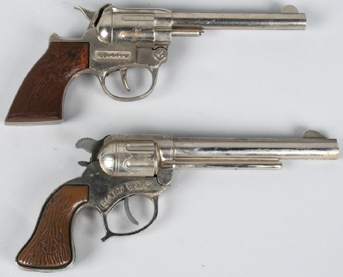 3- VINTAGE CAP GUNS & HOLSTERS - 5