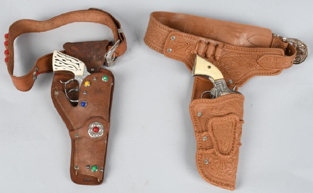 2- CAP GUN & HOLSTER SETS