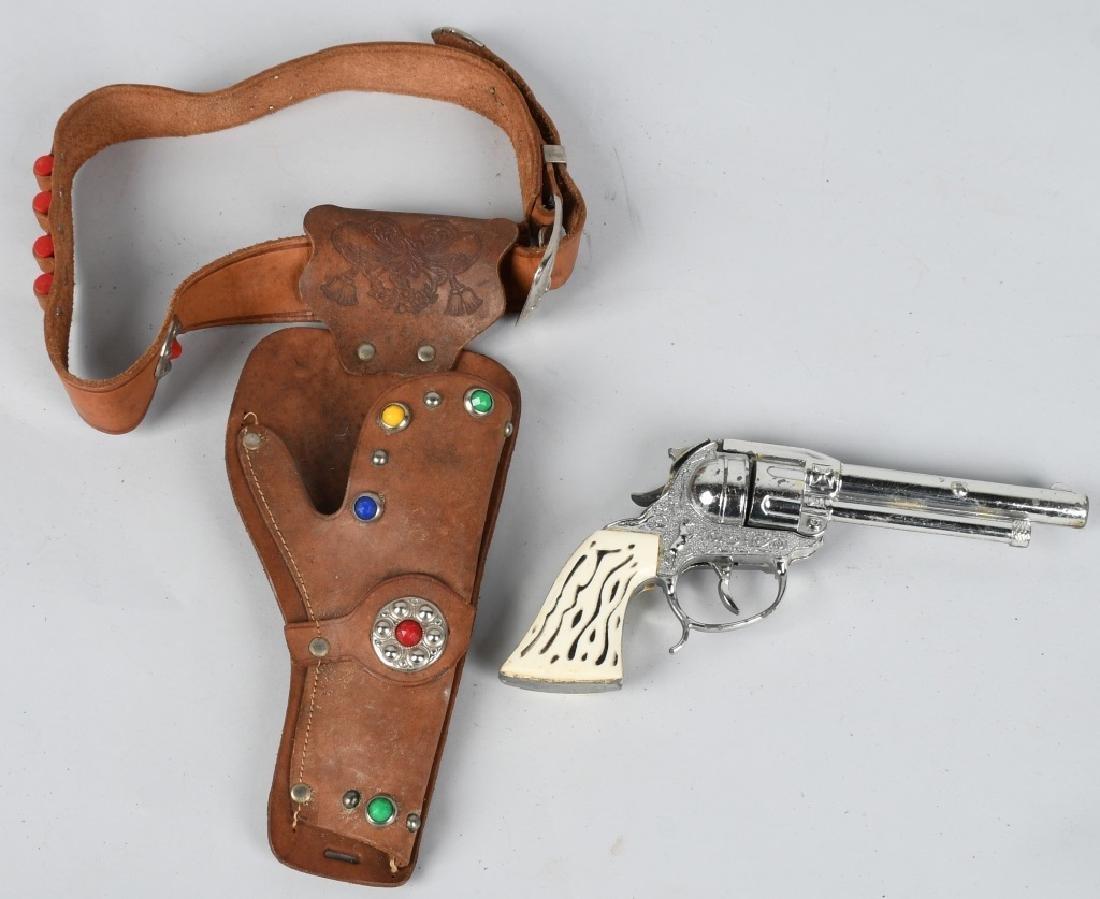 2- CAP GUN & HOLSTER SETS - 2