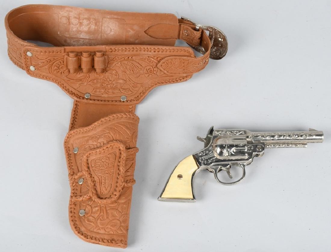 2- CAP GUN & HOLSTER SETS - 4