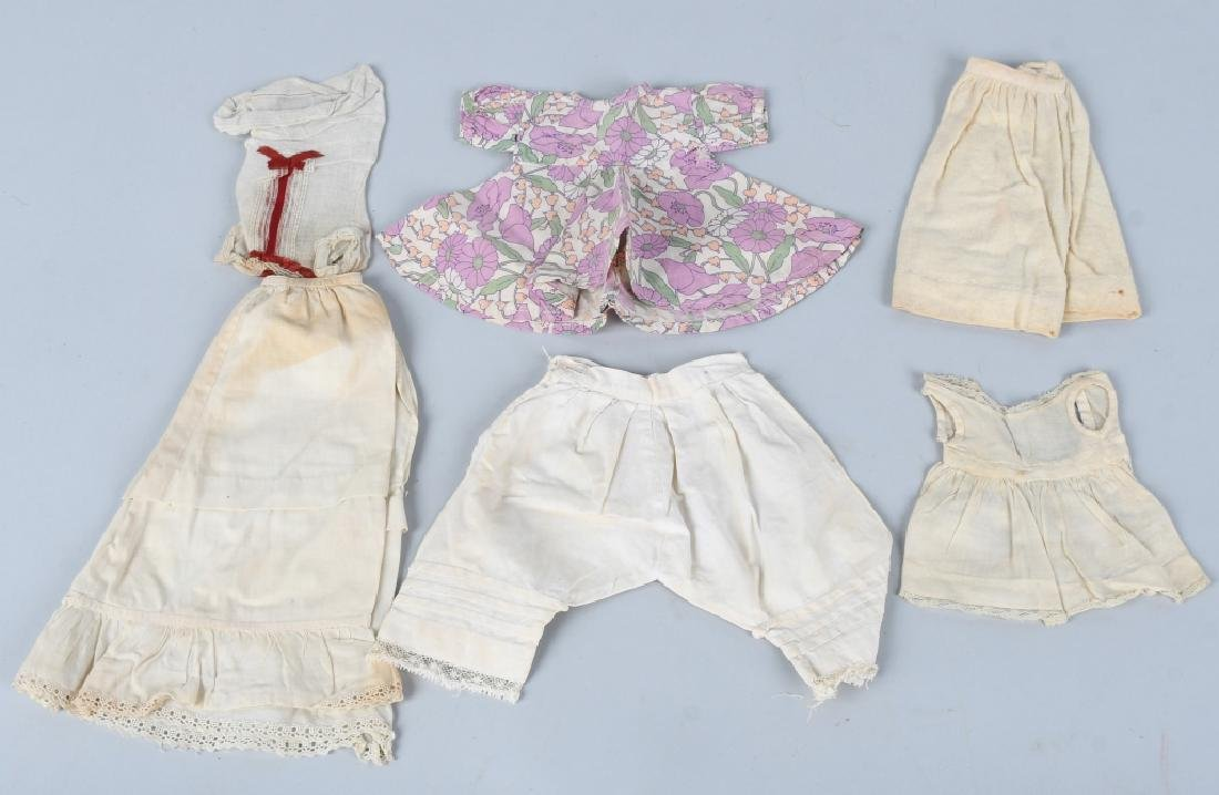 LARGE VINTAGE LOT of DOLL CLOTHES & MORE - 2
