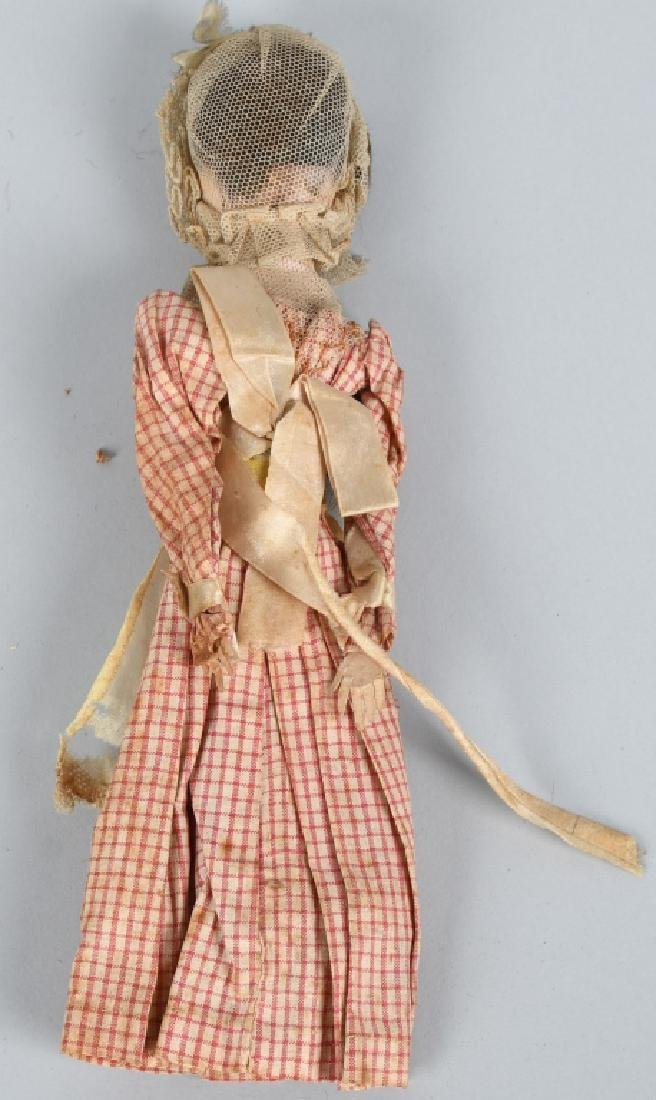 2-EARLY WOODEN DOLLS - 4