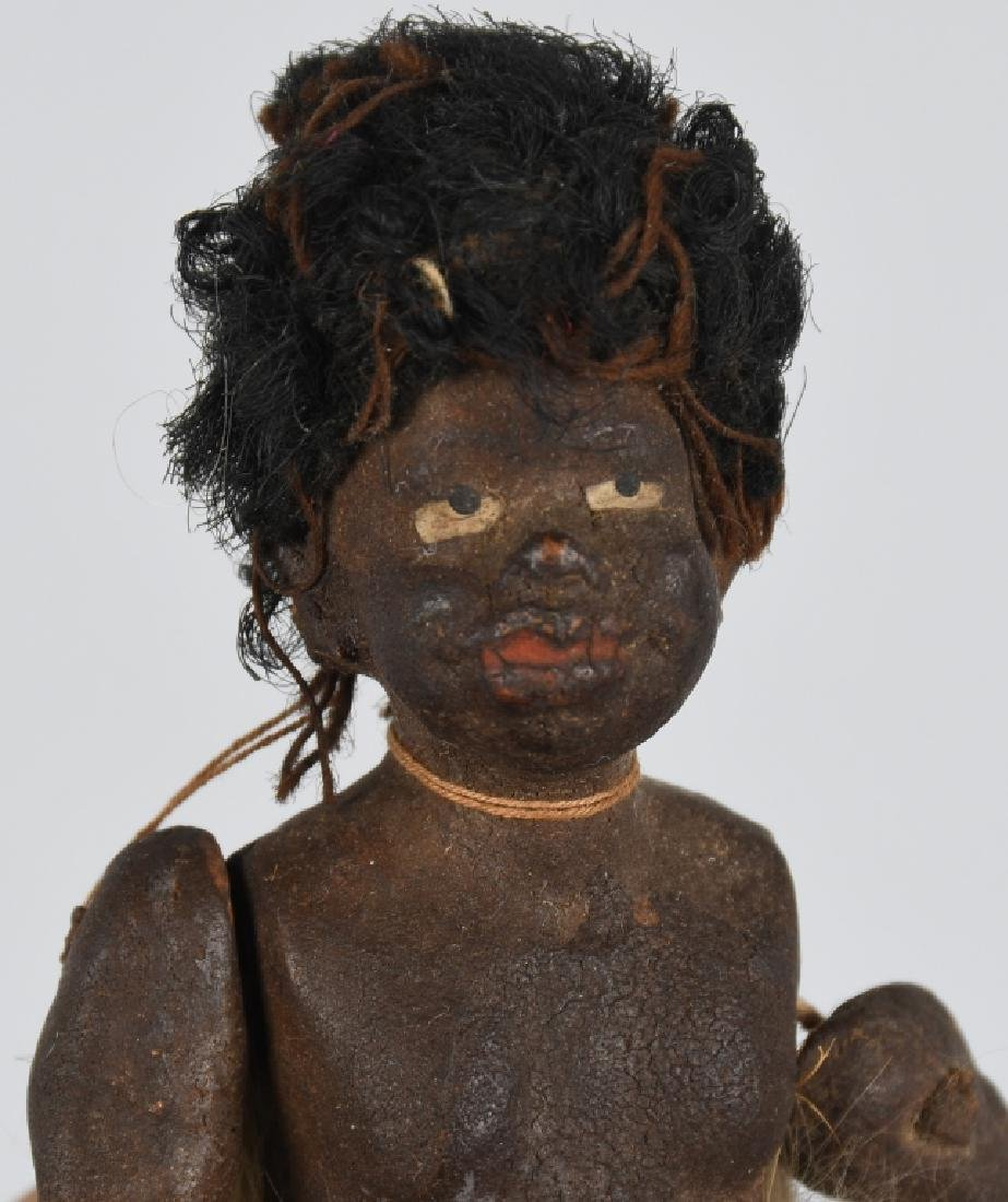2-EARLY WOODEN DOLLS - 8