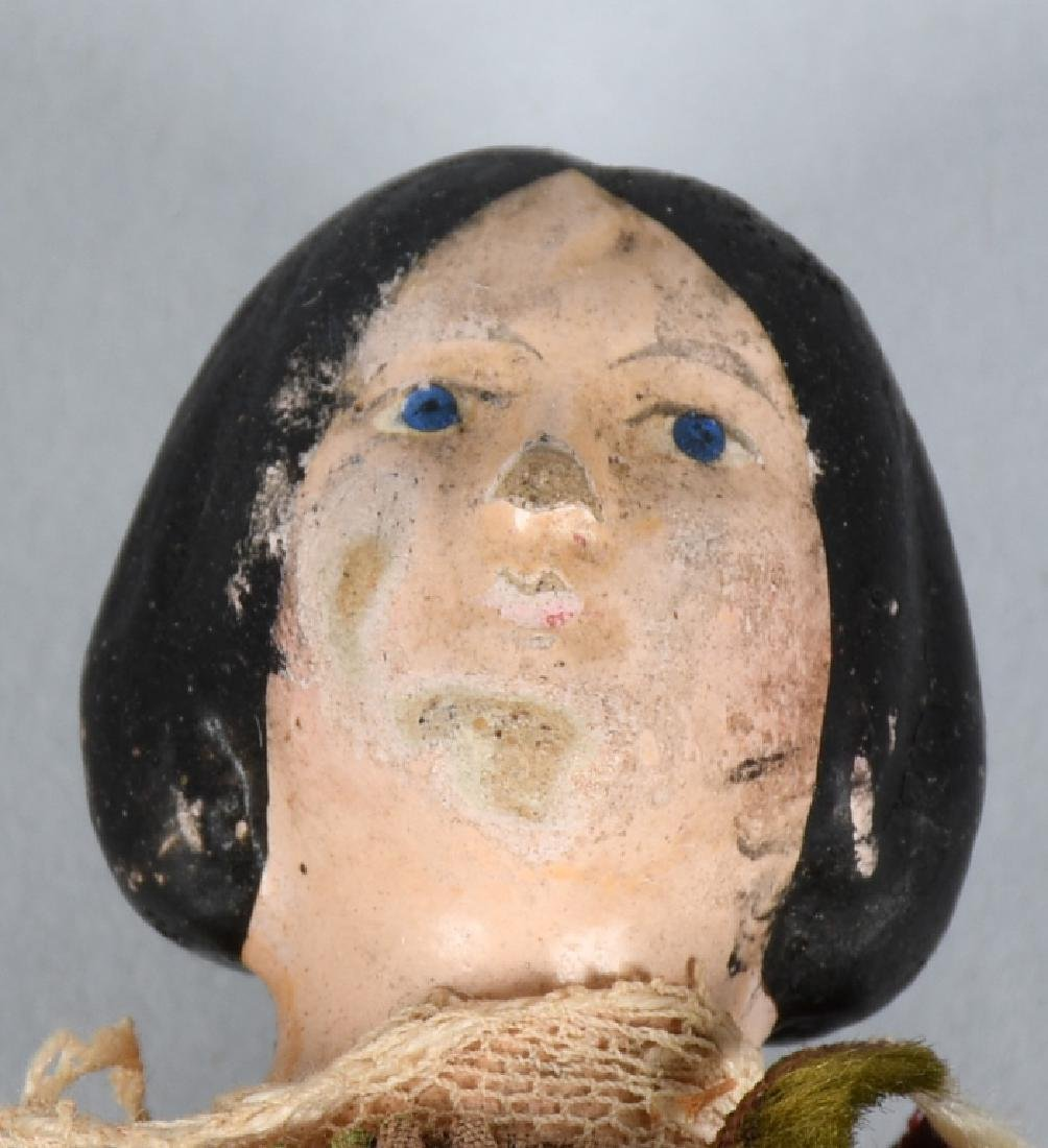 4-EARLY WOOD & COMPOSITION DOLLS - 4
