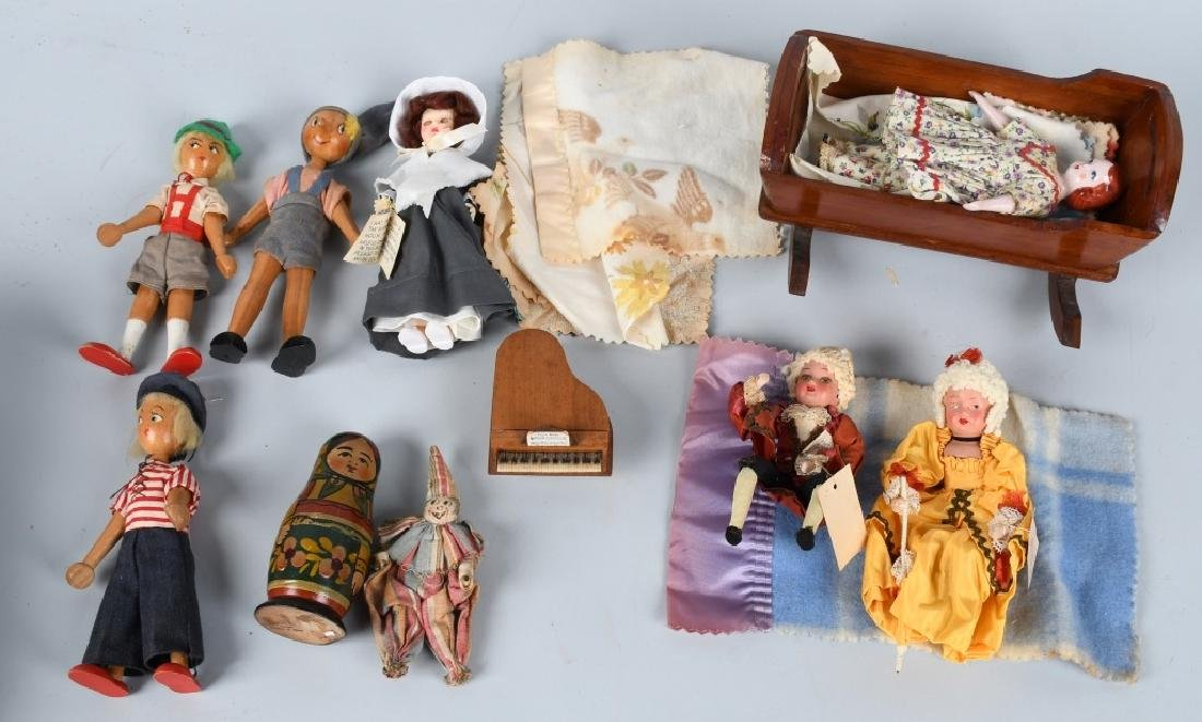 LOT of VINTAGE & CONTEMPORARY DOLLS