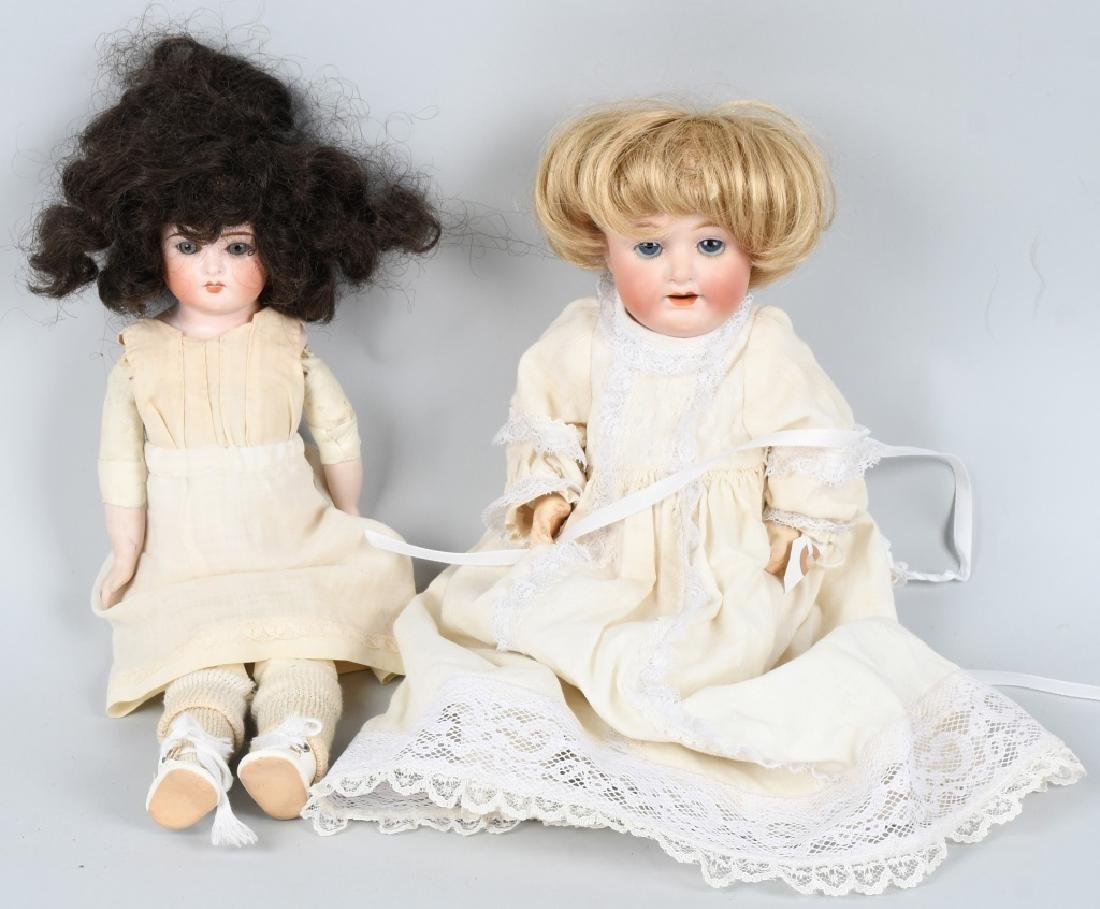 GERMAN BISQUE CUNO & OTTO DOLL & MORE
