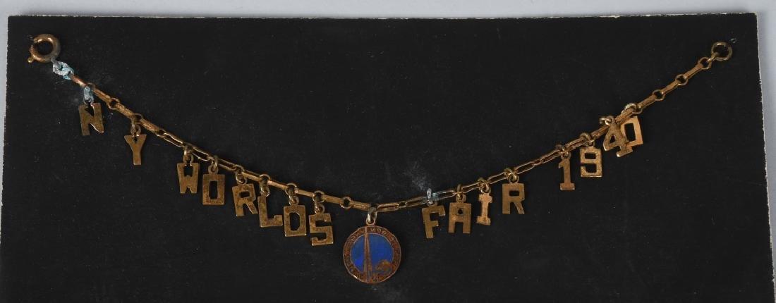 10- 1939 NEW YORK WORLDS FAIR SOUVENIRS - 2