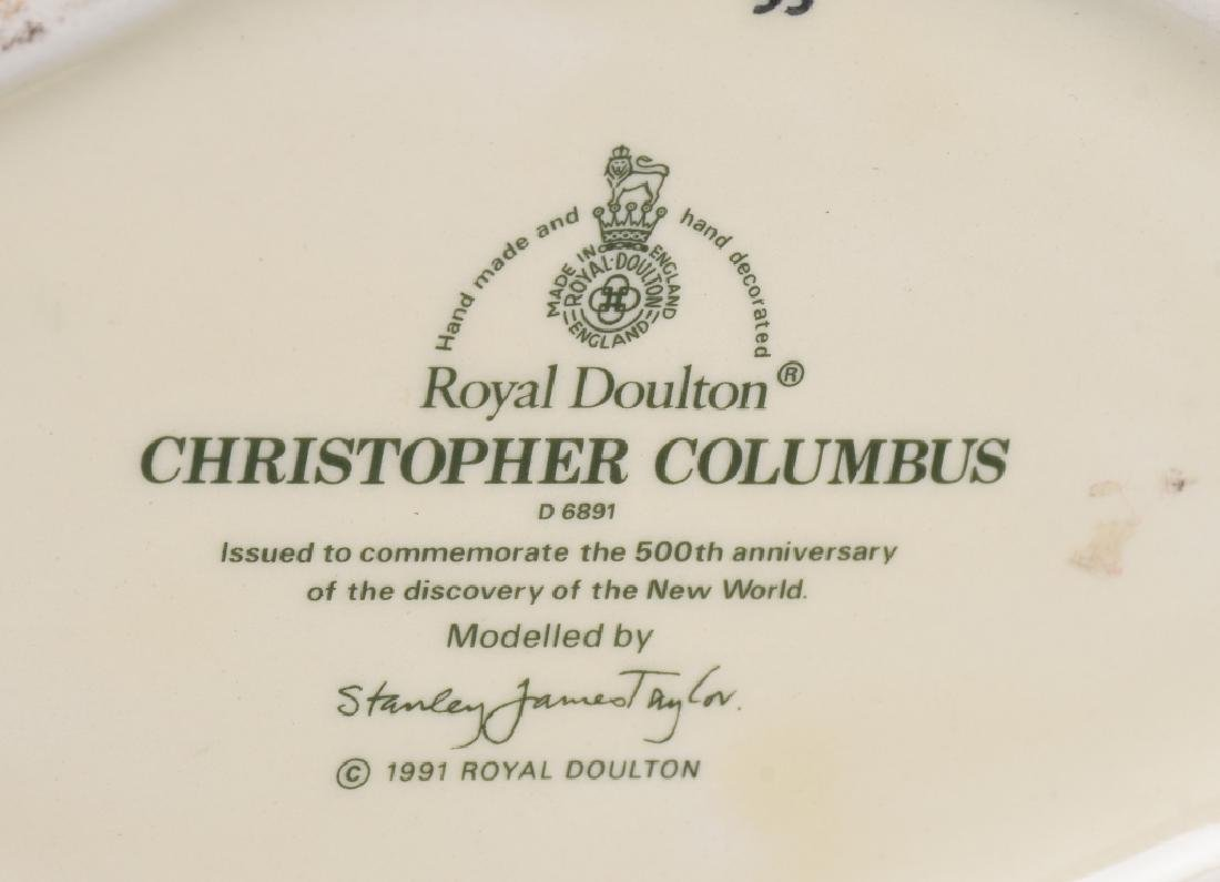 CHRISTOPHER COLUMBUS ROYAL DOULTON JUG - 4