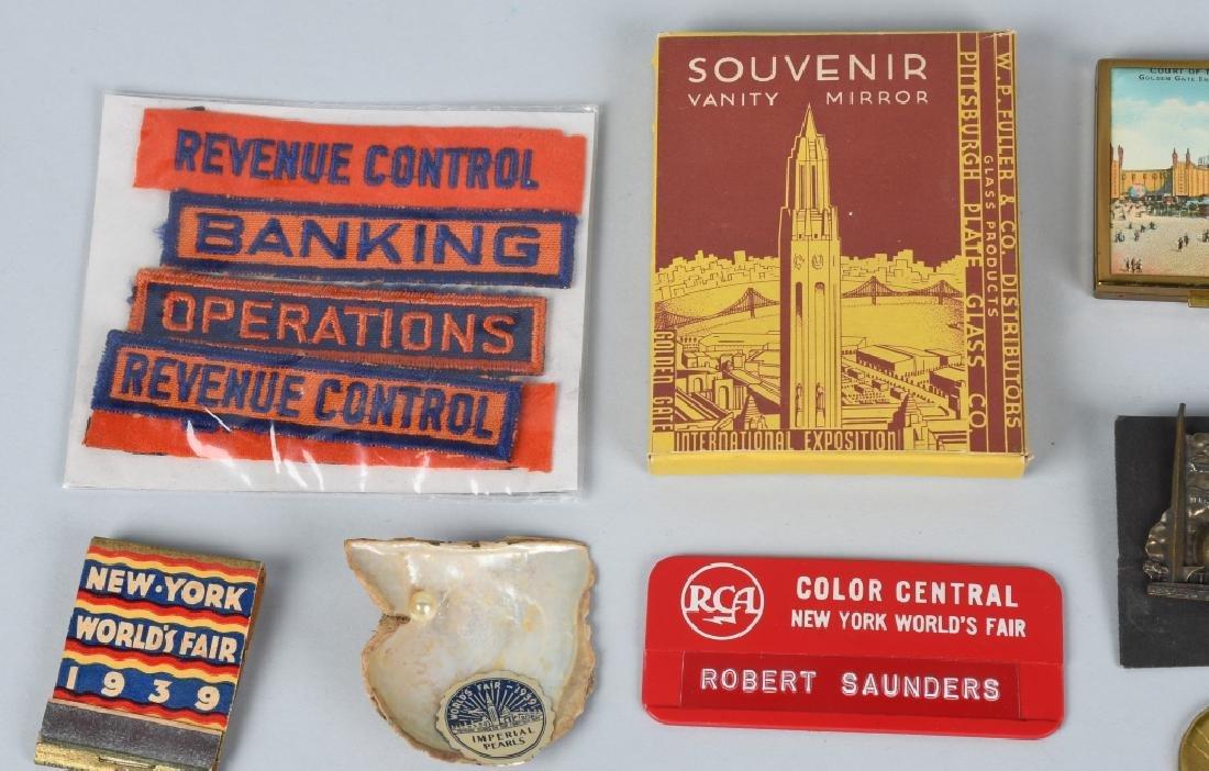 1939 NEW YORK WORLDS FAIR ITEMS - 2