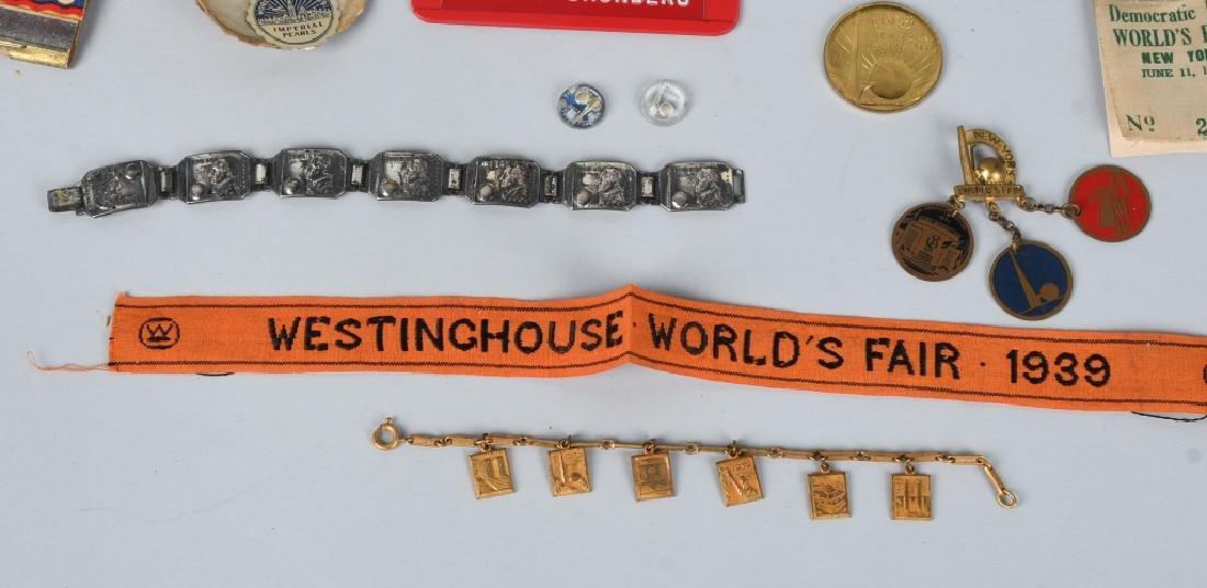1939 NEW YORK WORLDS FAIR ITEMS - 5