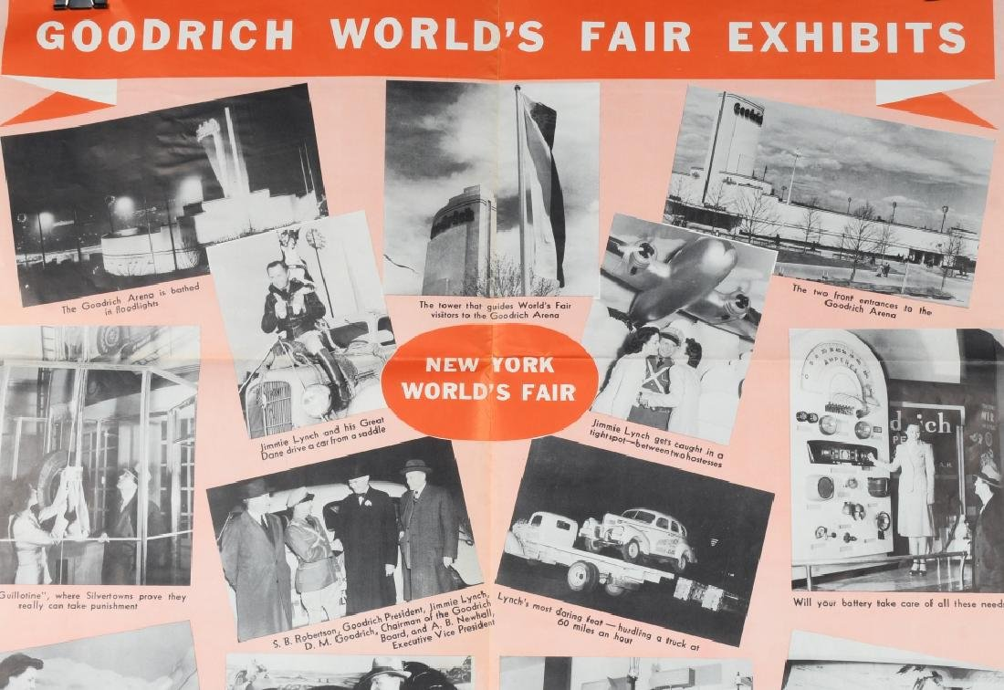 1939 NEW YORK WORLDS FAIR EPHEMERA - 8