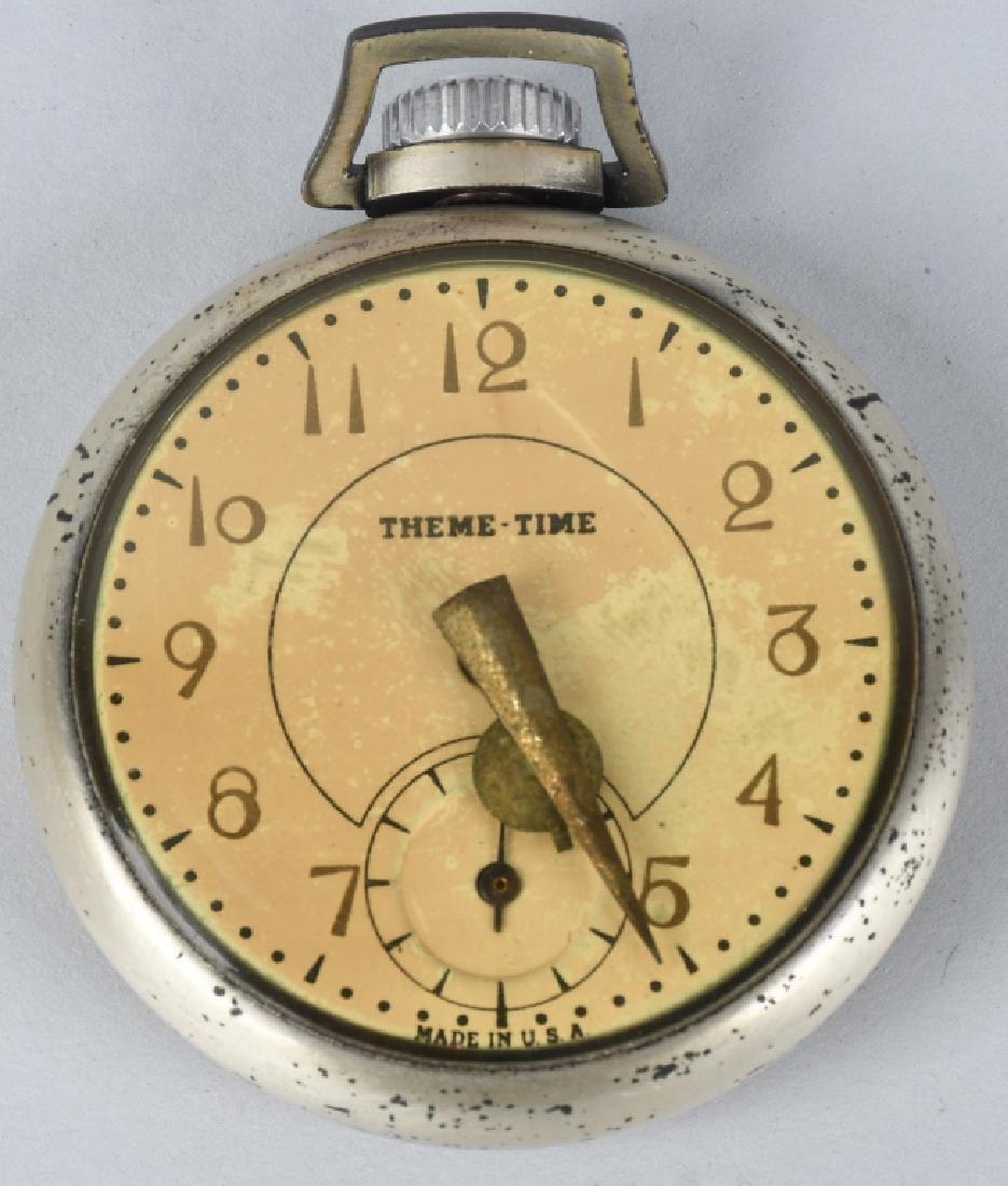 1939 NEW YORK WORLDS FAIR POCKET WATCH - 2