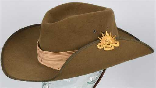 63cfe6b5bdb VIETNAM ERA AUSTRALIAN SLOUCH HAT WITH BADGE
