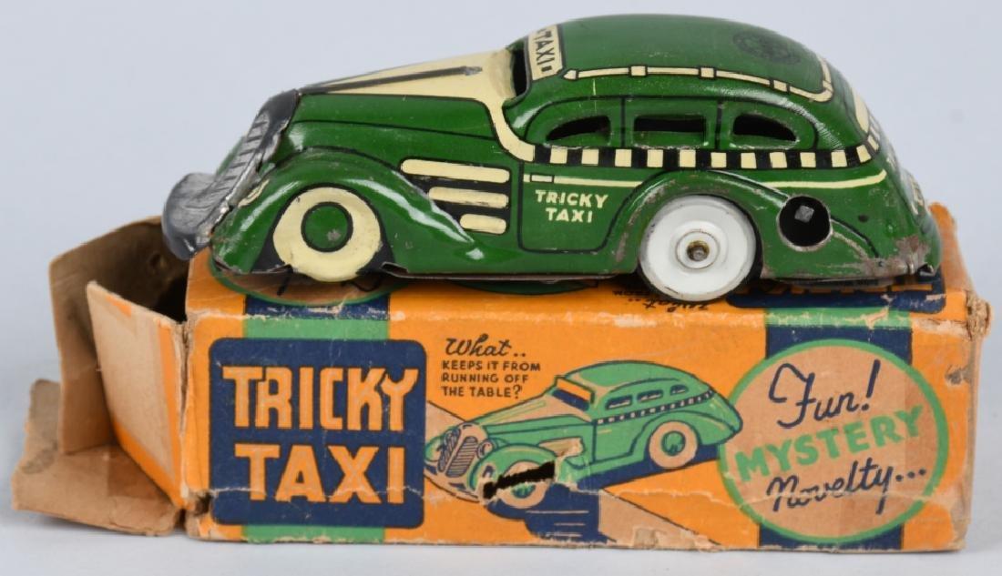 MARX Tin Windup TRICKY TAXI w/ BOX