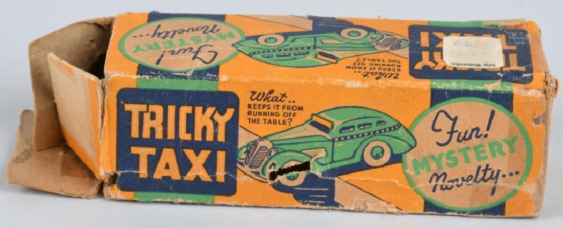 MARX Tin Windup TRICKY TAXI w/ BOX - 5