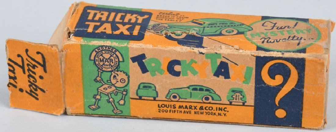 MARX Tin Windup TRICKY TAXI w/ BOX - 6