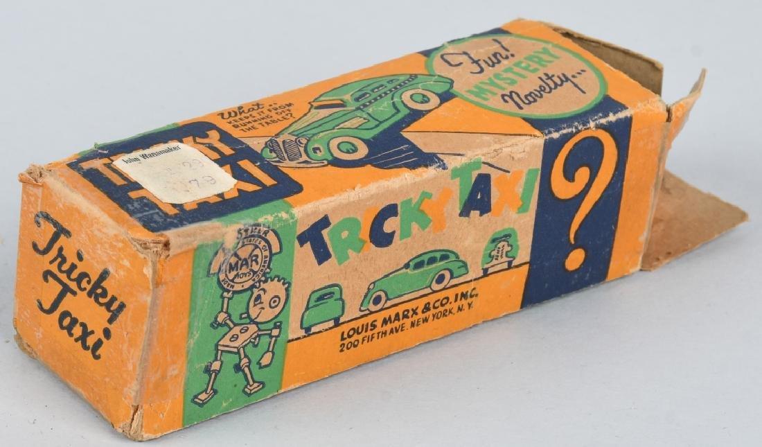 MARX Tin Windup TRICKY TAXI w/ BOX - 7