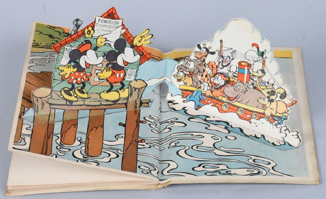 1933 MICKEY MOUSE & MINNIE MOUSE POP UP BOOKS - 5