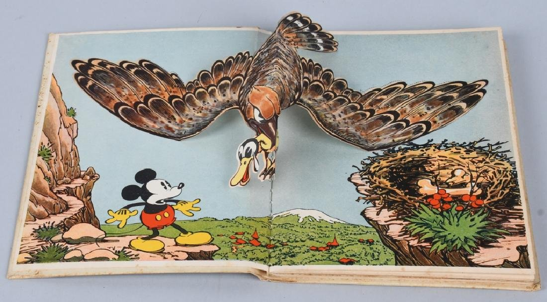 1933 MICKEY MOUSE & MINNIE MOUSE POP UP BOOKS - 6