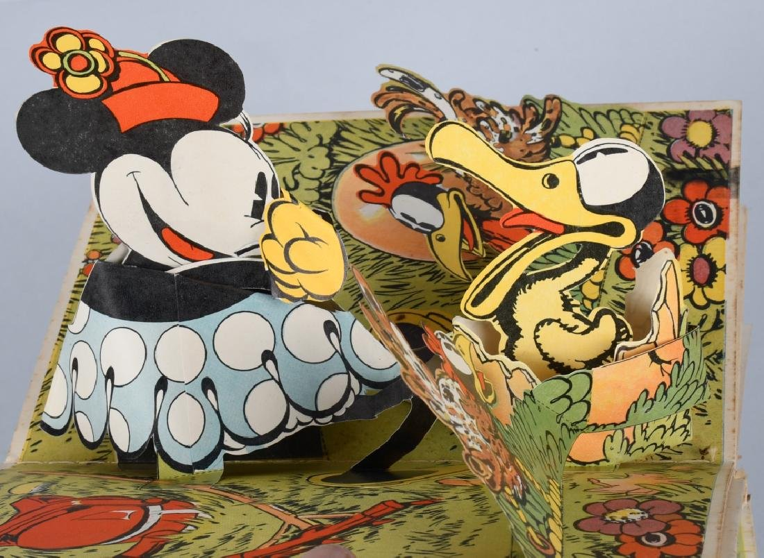 1933 MICKEY MOUSE & MINNIE MOUSE POP UP BOOKS - 7