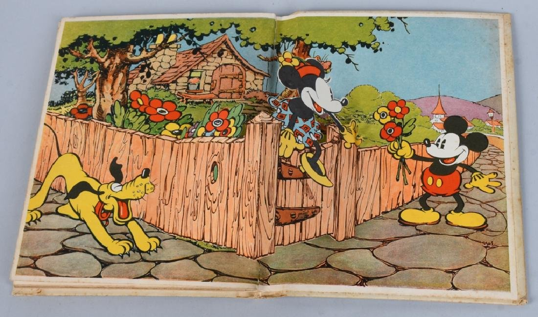 1933 MICKEY MOUSE & MINNIE MOUSE POP UP BOOKS - 8
