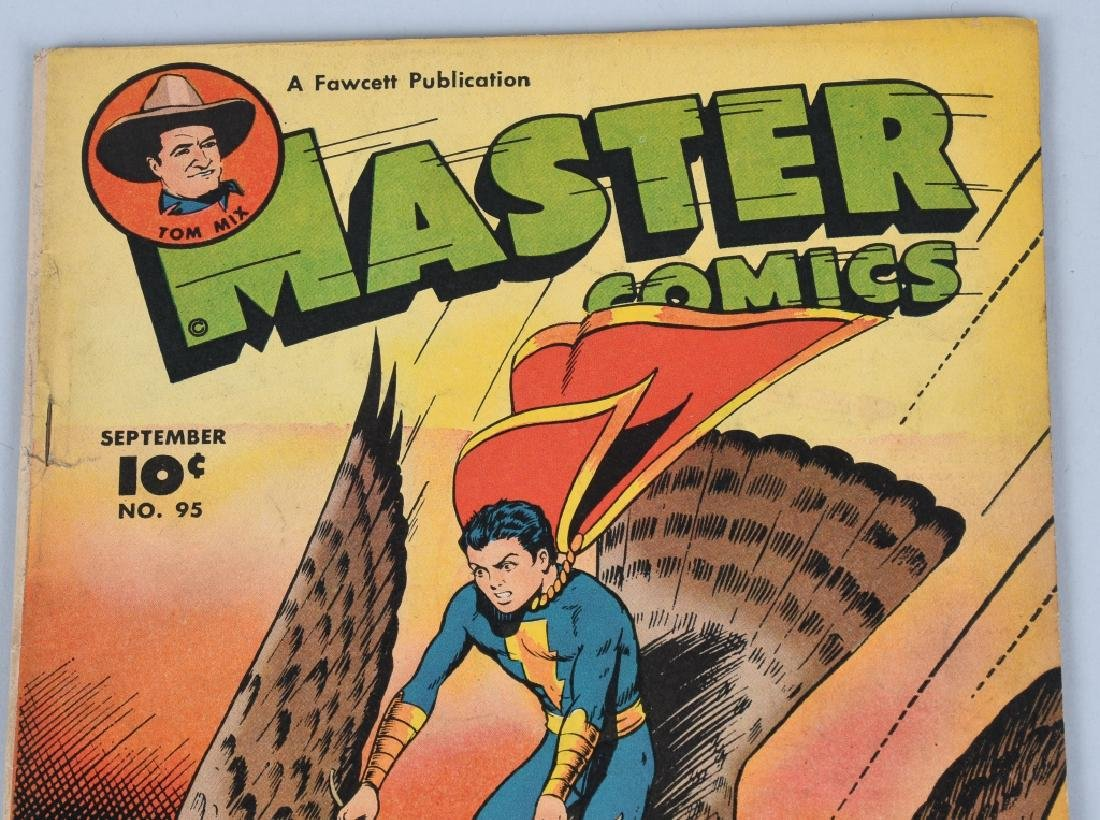 CAPTAIN MARVEL JR #108 & MASTER COMICS #95 - 2
