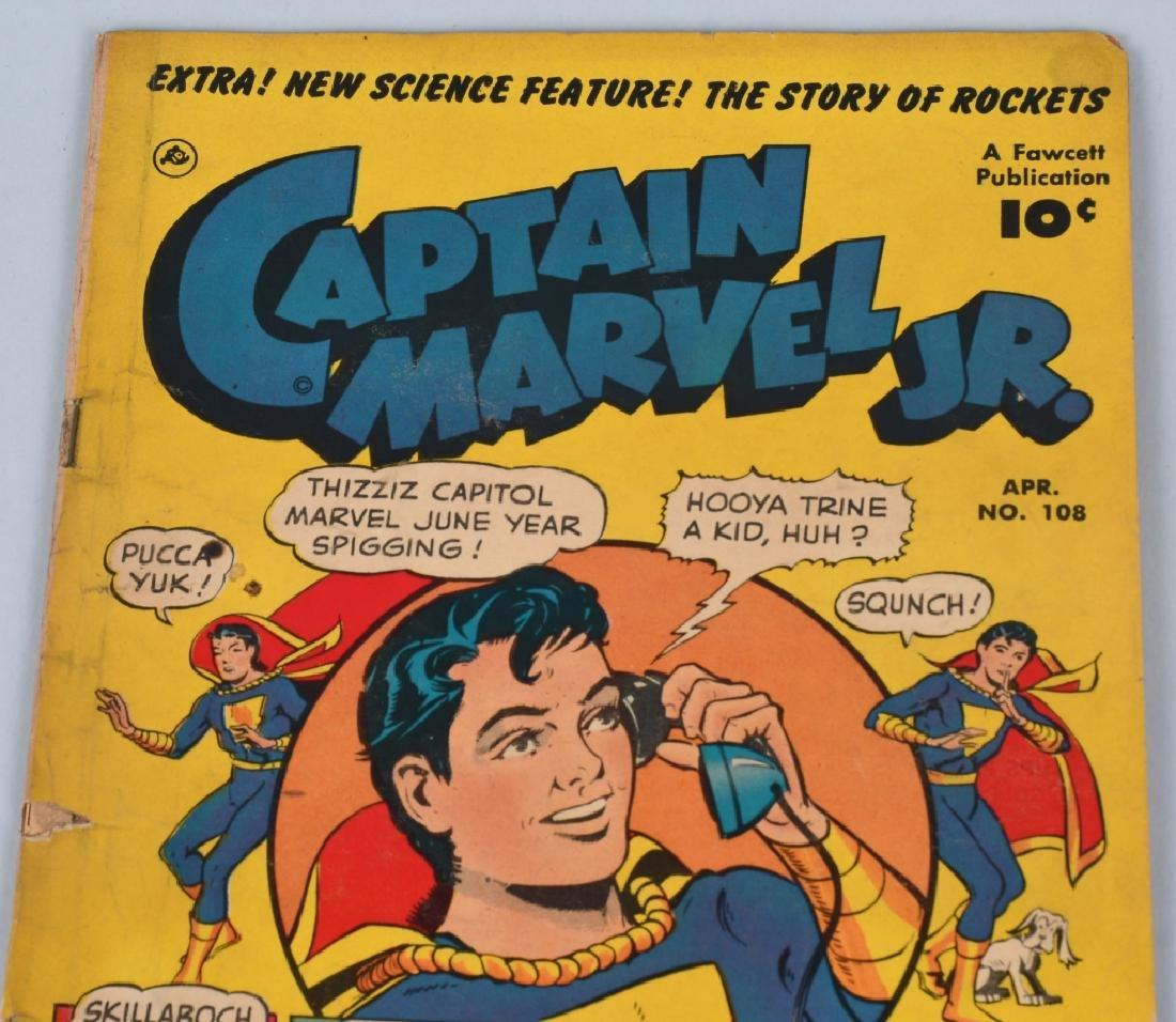 CAPTAIN MARVEL JR #108 & MASTER COMICS #95 - 5