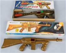 2 VINTAGE SPACE TOY GUNS BOXED