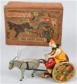 LEHMANN GERMANY tin windup BALKY MULE w/ BOX
