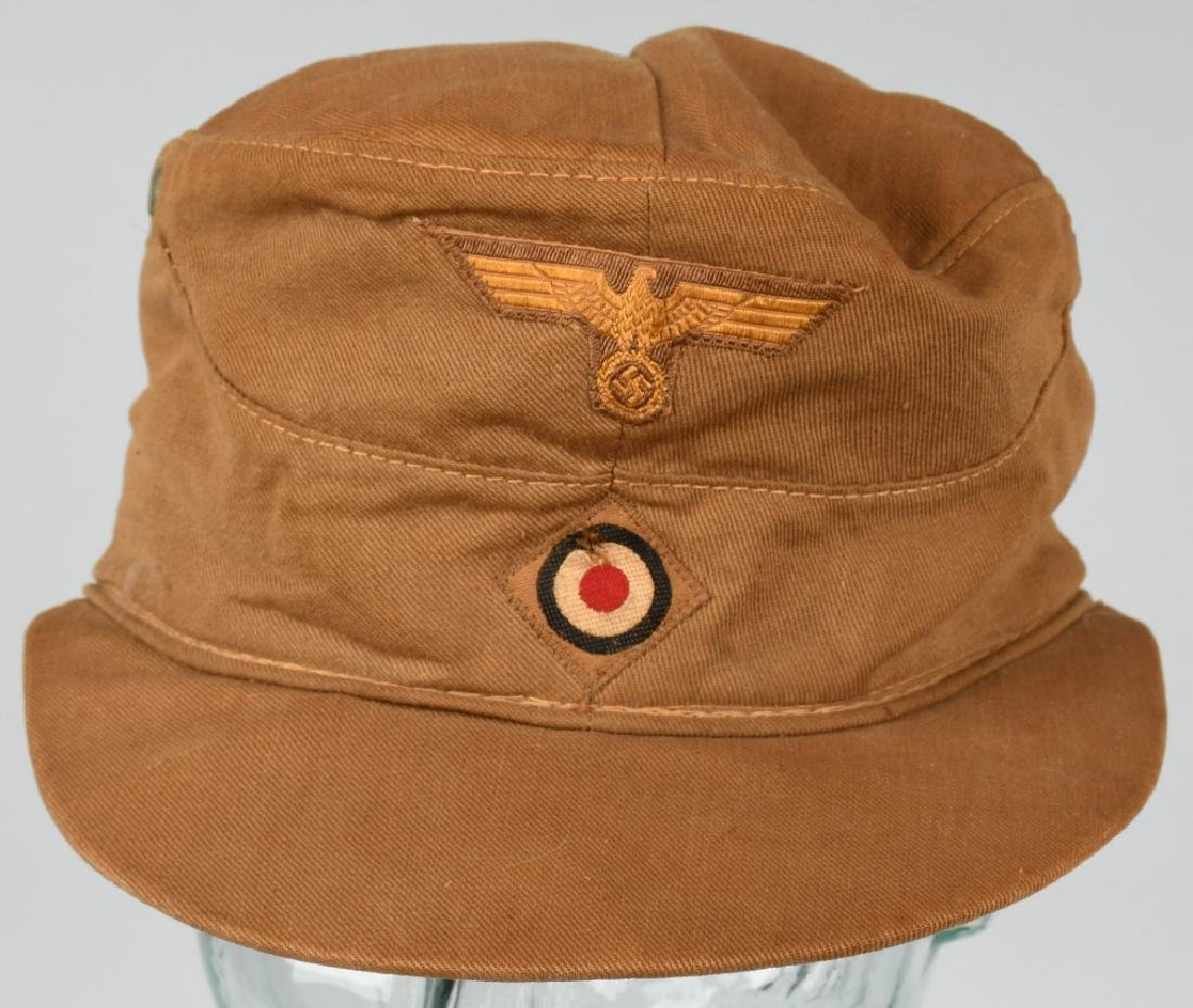 WWII NAZI GERMAN KREIGSMARINE TROPICAL FIELD CAP