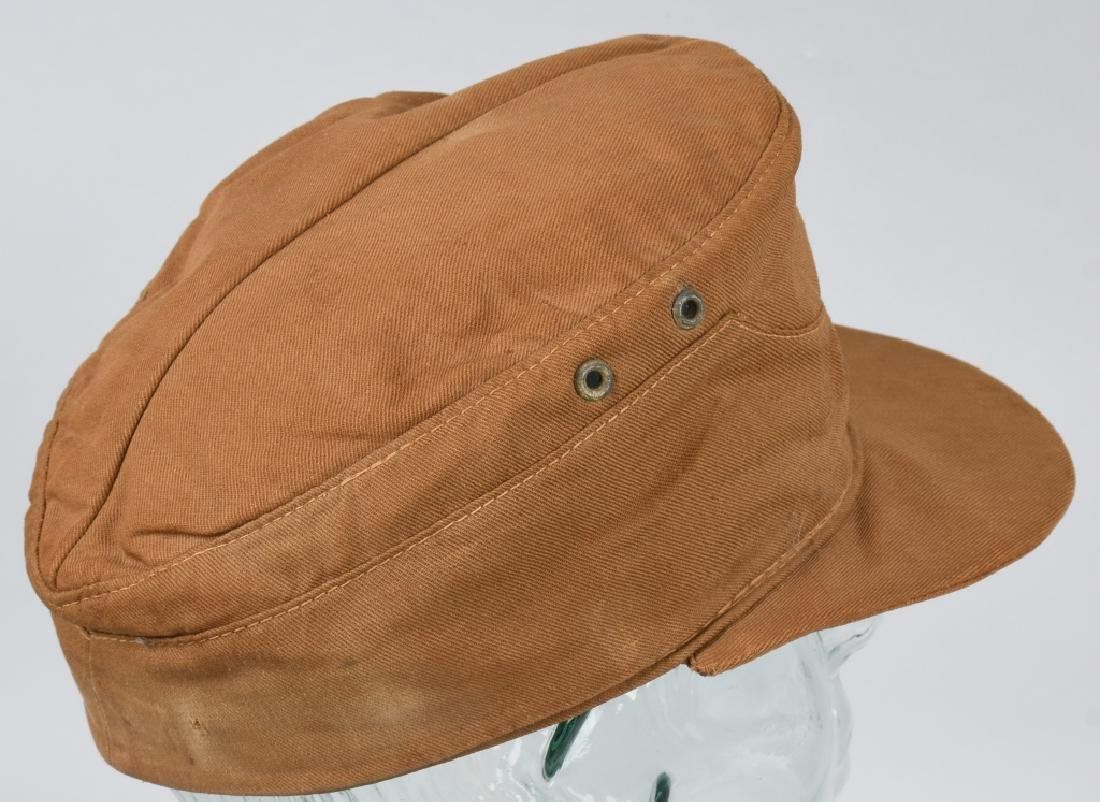 WWII NAZI GERMAN KREIGSMARINE TROPICAL FIELD CAP - 5
