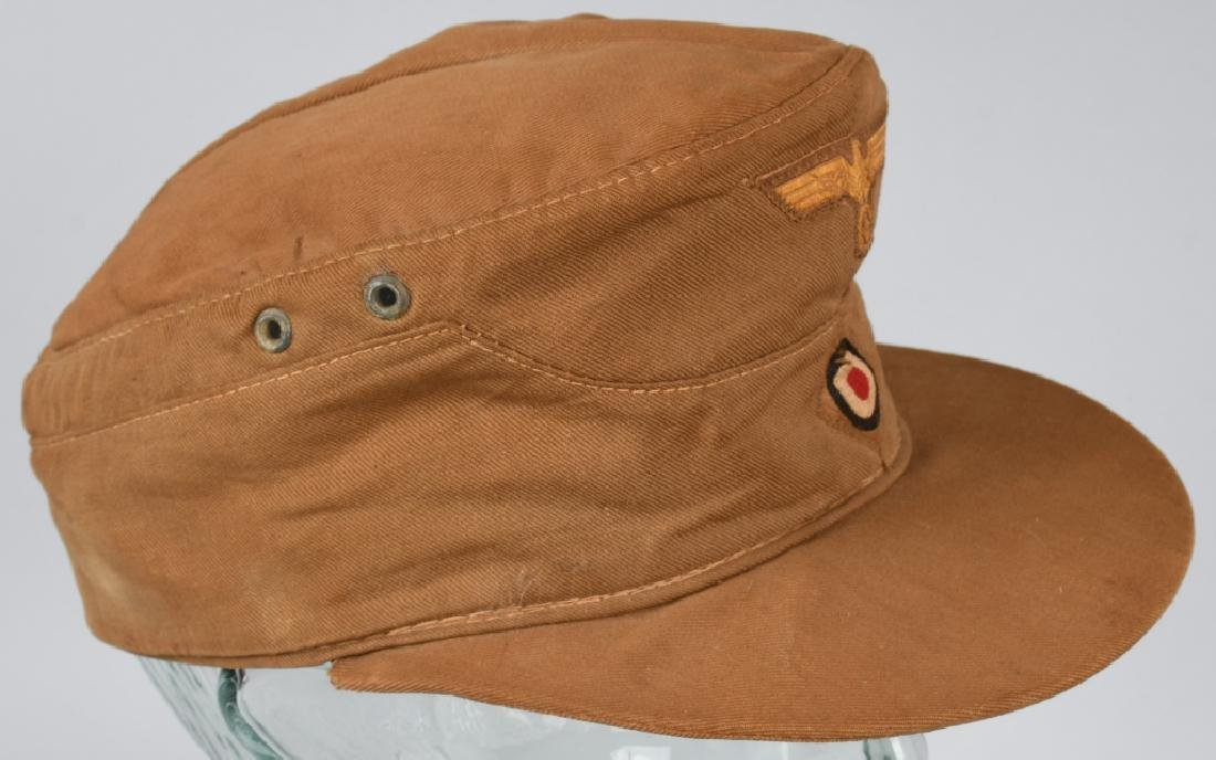 WWII NAZI GERMAN KREIGSMARINE TROPICAL FIELD CAP - 6