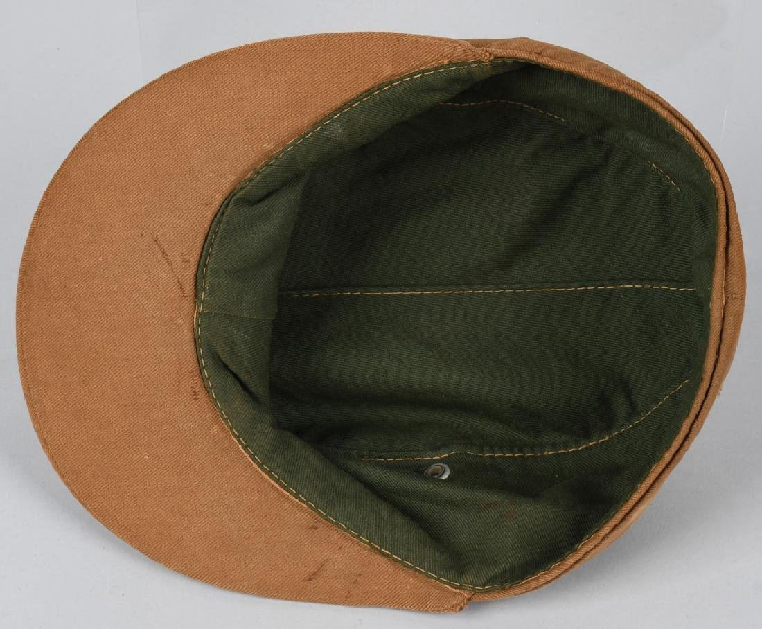 WWII NAZI GERMAN KREIGSMARINE TROPICAL FIELD CAP - 7