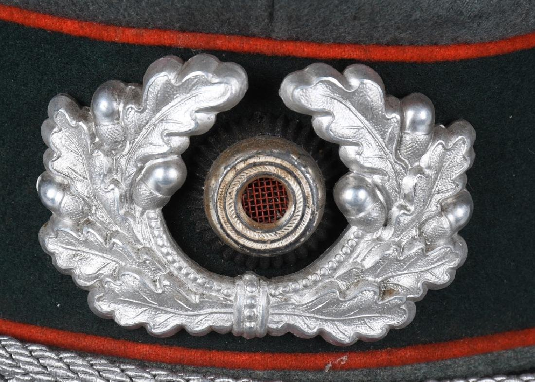 WWII NAZI GERMAN ARTILLERY OFFICER'S VISOR CAP - 2