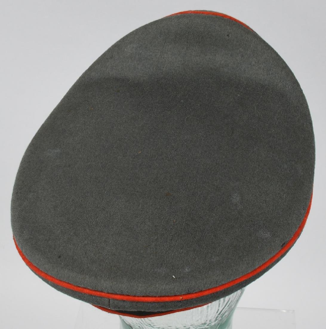 WWII NAZI GERMAN ARTILLERY OFFICER'S VISOR CAP - 5