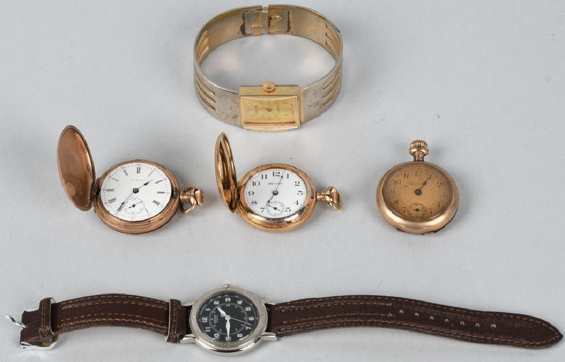 5 - WOMEN'S POCKET AND WRIST WATCHES