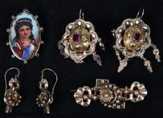 LOT OF VICTORIAN JEWELERY