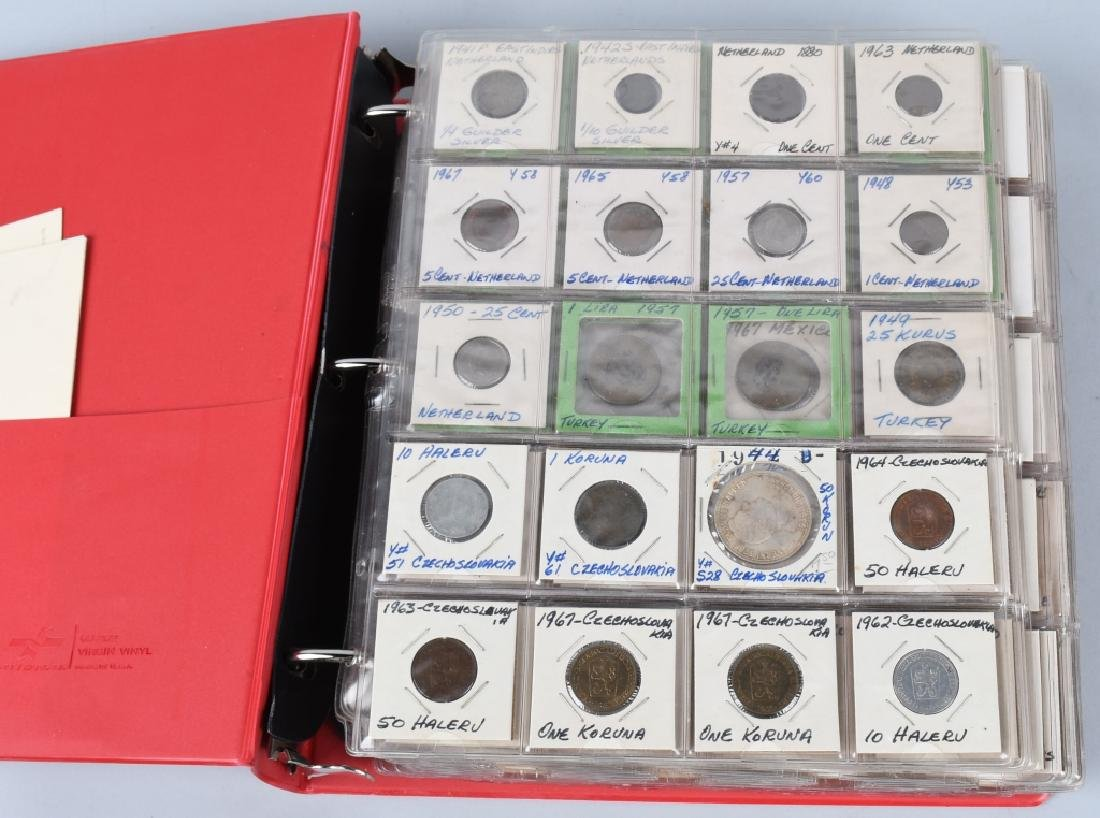 LARGE ESTATE LOT OF FOREIGN COINS