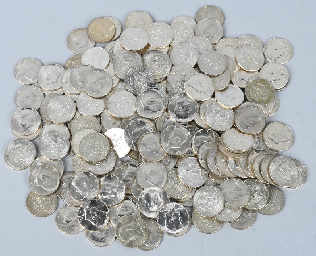 1965-69 40% SILVER KENNEDY HALF DOLLAR LOT