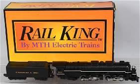 RAIL KING CO ALLEGHENY STEAM ENGINE 2666