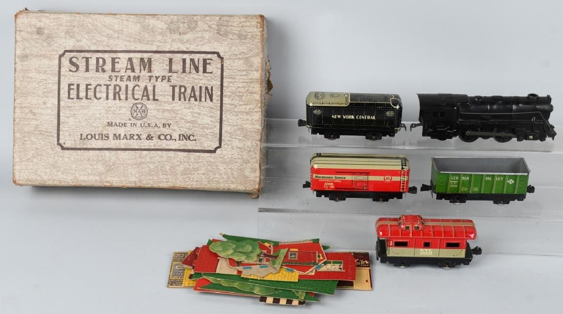 MARX No.5652 STREAMLINE TRAIN SET w/ BOX
