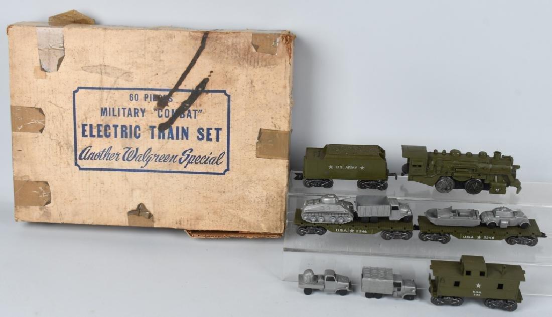 MARX No. 24965 MILITARY COMBAT TRAIN SET w/ BOX