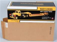 FIRST GEAR MACK B-MODEL LOW BOY 1:25 w/ BOX