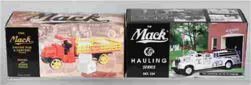2 - FIRST GEAR die cast MACK TRUCKS