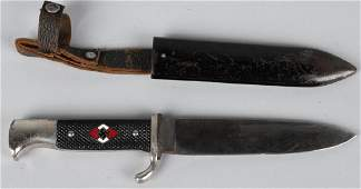 WWII NAZI GERMAN HITLER YOUTH KNIFE RZM 7/13