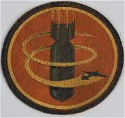 WWII US 8th AIR FORCE 709th BOMB SQUADRON PATCH