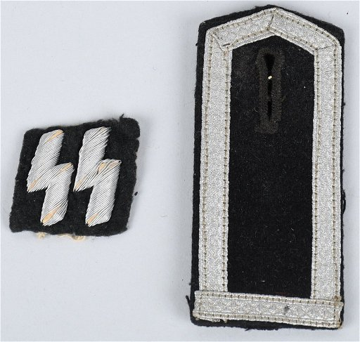 NAZI GERMAN SS POLICE INSIGNIA FOR WRAPPER TUNIC
